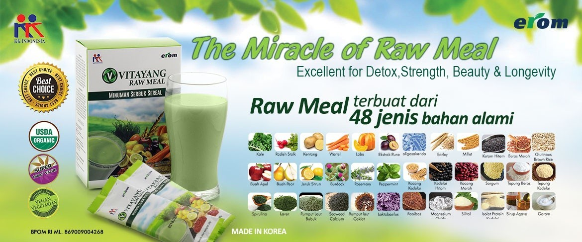 Banner Raw Meal