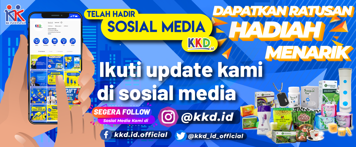 Banner Launching Sosmed KKD